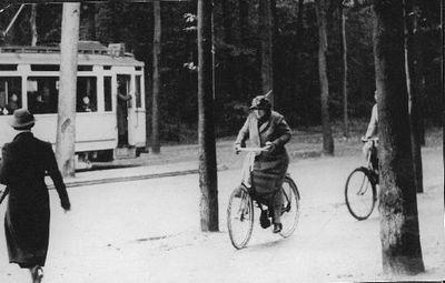 De oranjes in de buitenlucht koninklijk fietsen fietsen