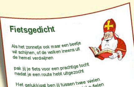 Sinterklaasgedicht Voor Fietsers Fietsen123