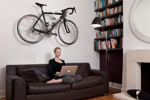 Leuke Muur Ideeën : De fiets als sieraad in de woonkamer? Zeven goede ...