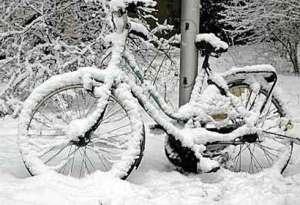 Elektrische fiets winter