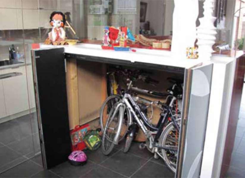 Opbergen Tips Keuken : Tips hoe kunt u fietsen opbergen in een huis zonder berging